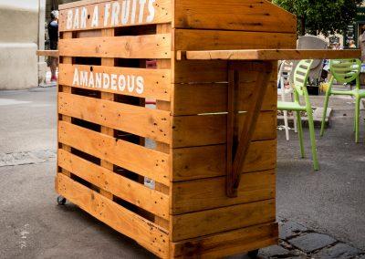 BAr à fruit Amandeous Montpellier par Ambiance Palette (1)