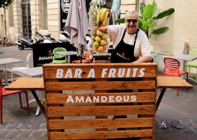 Bar à fruit Amandeous Montpellier