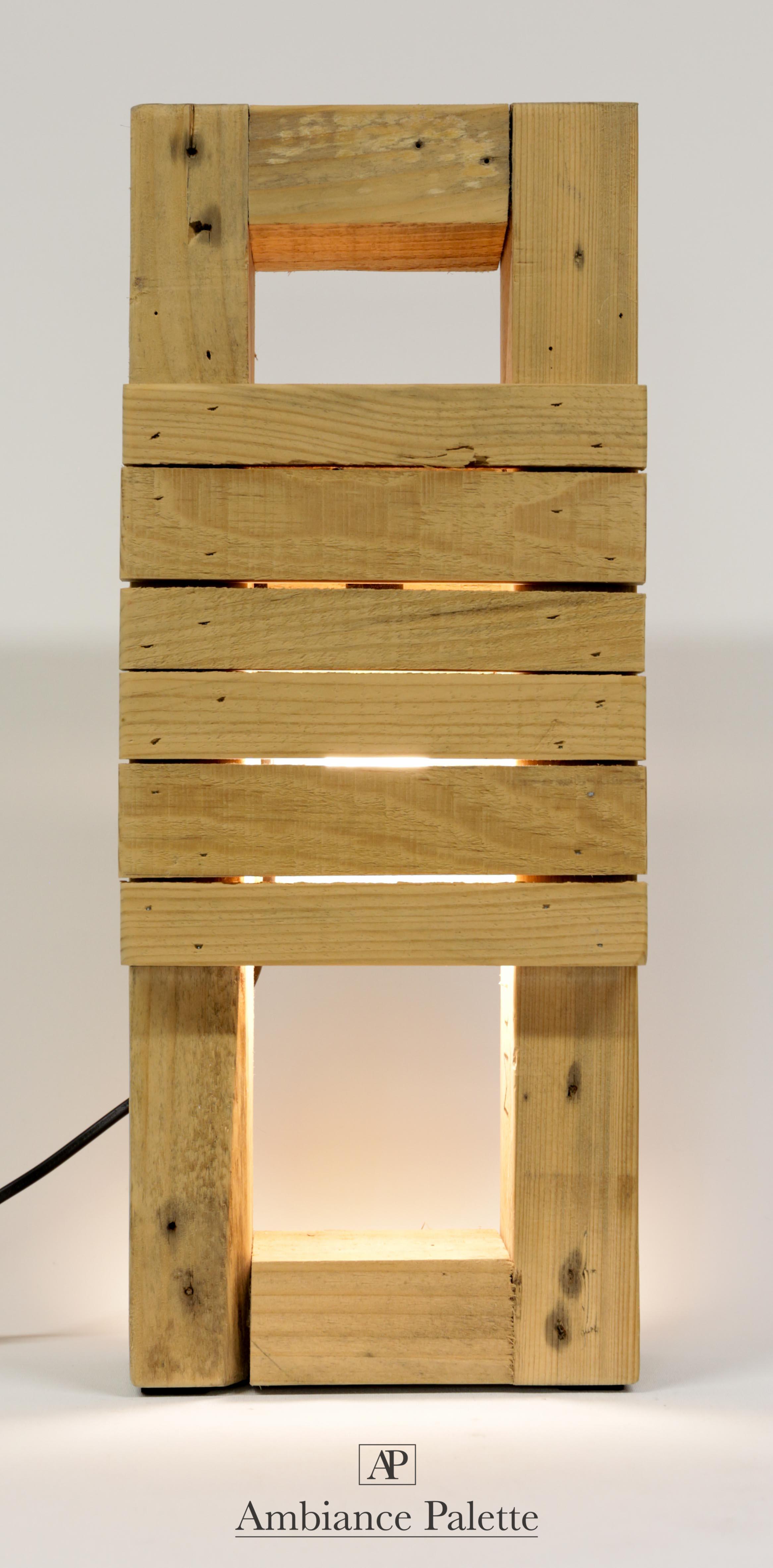 lampe bois design 1 ambiance palette. Black Bedroom Furniture Sets. Home Design Ideas