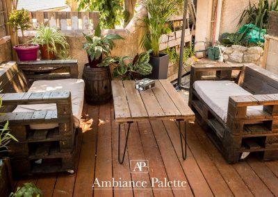 salon de jardin fauteuil table basse pied ripaton par Ambiance Palette (8)