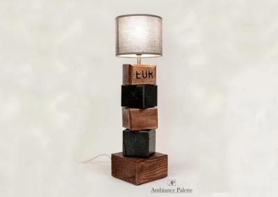Lampe en bois #2