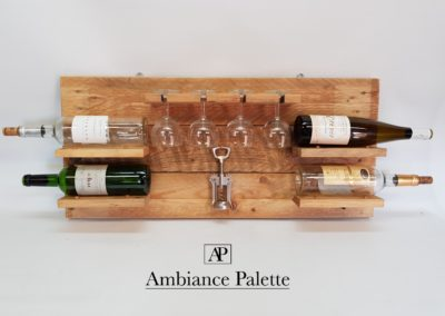 cave à vin murale