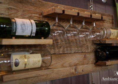 Bar à vin mural par Ambiance Palette (1)