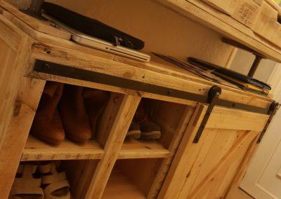 Console d'entrée et meuble à chaussures par Ambiance Palette (4)