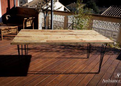 Table sejour 180x90 par Ambiance palette (4)